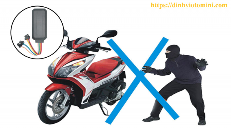 định vị xe máy vt08s