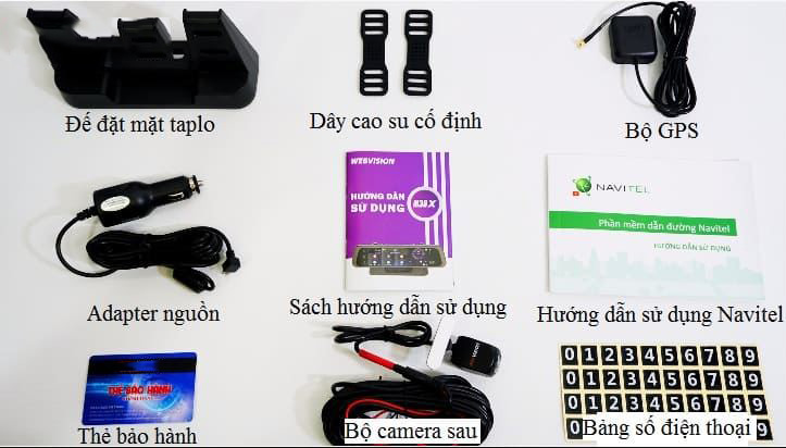 Camera hành trình Webvision M39X