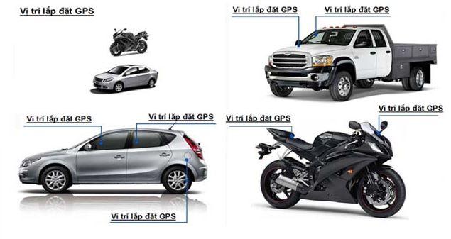 định vị ô tô xe máy GS03A